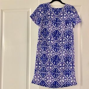 The Limited purple patterned dress